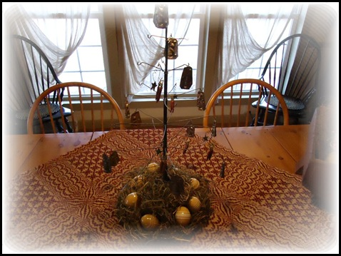 Wire Tree on table