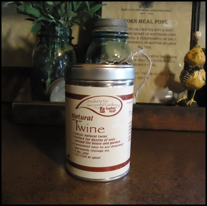 Twine in can