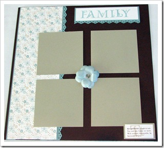 Family Parisian Paper page