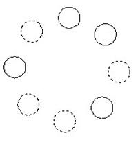 cross polygon selection