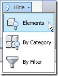 hide elements
