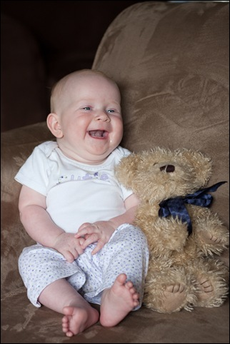 Sara teddy bear 4 months-13 blog