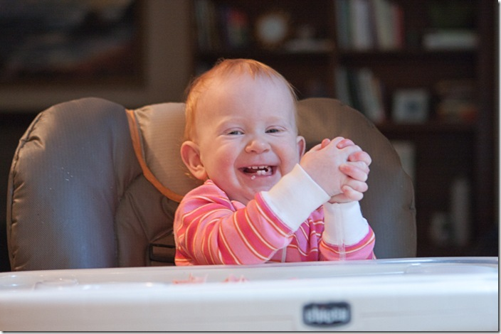 Sara in the highchair-10 blog