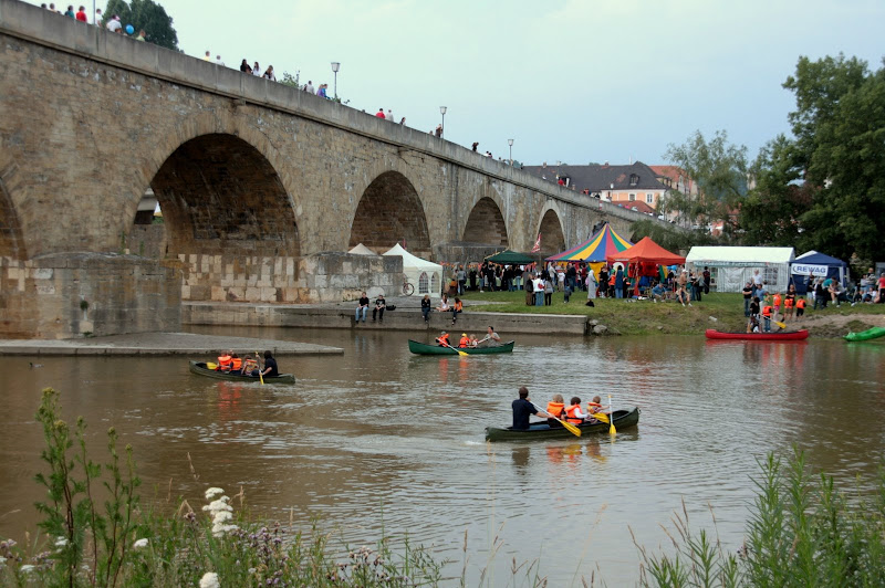 Bürgerfest-Rennen auf der Donau II