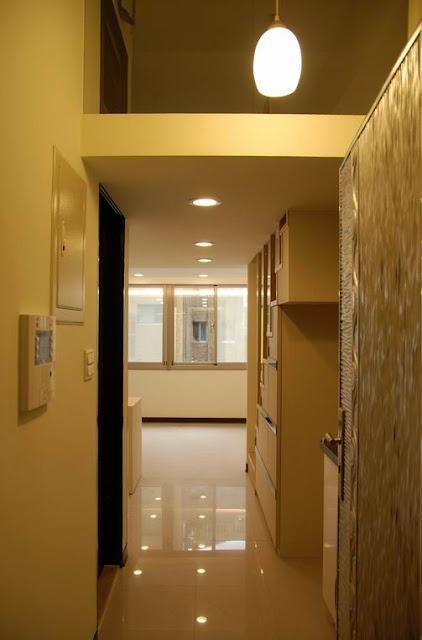 夾層住宅入口與樓梯