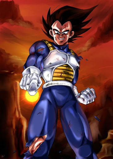 Bitter Cold Megapost   Imagenes de Dragon Ball   Parte 3   Vegeta