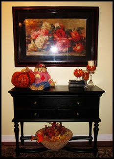 fall decorations all