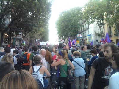 Manifestación CGT, hacia adelante.
