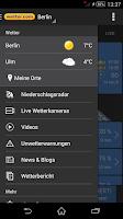 Screenshot of wetter.com