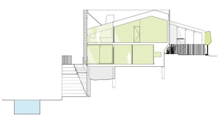 Jovanovich House Cross Section