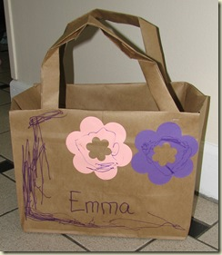 From paper bag to book bag