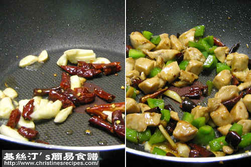 Kung Pao Chicken Procedures