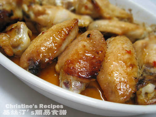 焗甜辣雞翼 Baked Chicken Wings in Sweet & Chili Sauce01