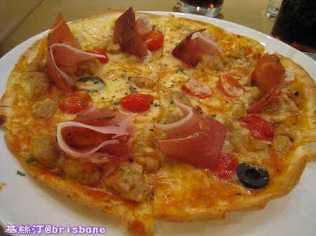 巴馬火腿特薄脆批 Parma Ham Tortilla Pizza
