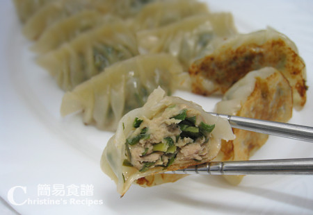 Pork and Chive Dumplings (韭菜餃子 video) | Christine's ...