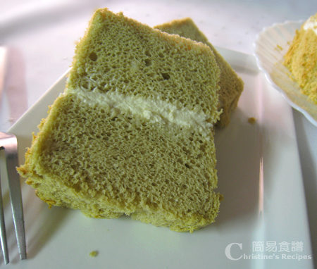 Green Tea Chiffon Cake