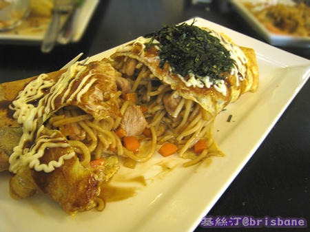日本蛋包麵 Japanese Fried Noodles Wrapped in Omelette02