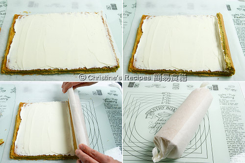  Green Tea Swiss Roll Procedures02
