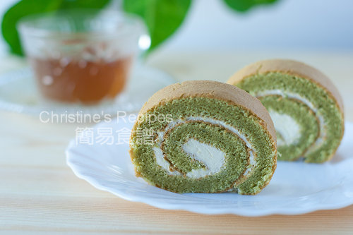  Green Tea Swiss Roll02