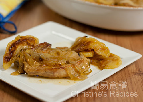 焗焦糖蘋果豬扒 Baked Pork Chops with Caramelized Apples03