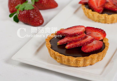 Chocolate Strawberry Tarts02