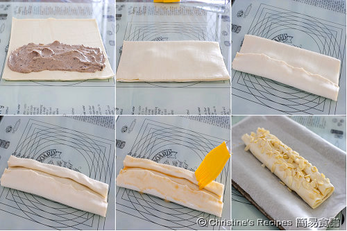 Ricotta Chocolate Pastry Procedures