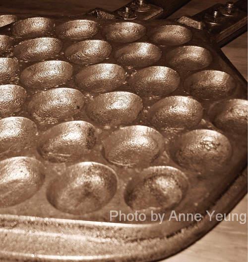 Hong Kong Style Egg Waffle Mould