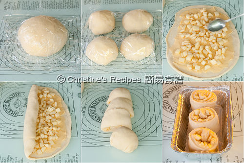Apple Custard Buns Procedures02