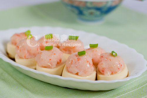 Steamed To Fu with Minced Prawn/Shrimp02