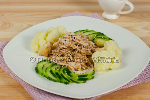 Warm Handpull Chicken Salad with Sesame Dressing02