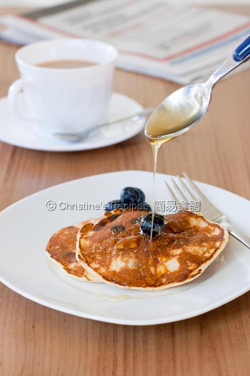 藍莓班戟 Blueberry Pancakes01