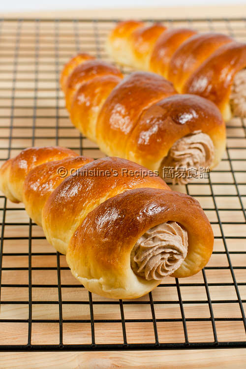 Nutella Cream Horns01