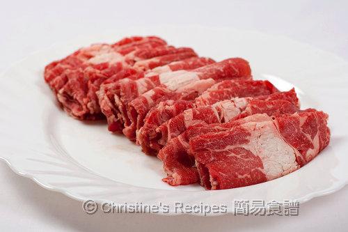 肥牛肉 Beef Slices