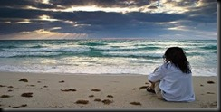 mulher-na-praia