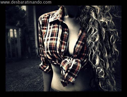 mulheres lindas sensuais camiseta masculina de homem roupa sensual (48)