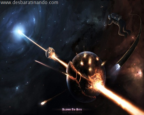 wallpapper desbaratinando planetas papeis de parede espaço planets space (17)