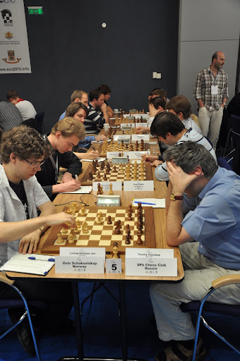 Mot St. Petersburg i 4.runde