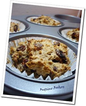Rye Raisin Muffin