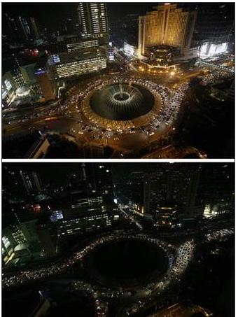 Earh Hour Jakarta 2009