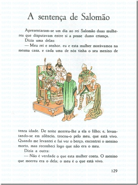 a sentença de salomão santa nostalgia 01