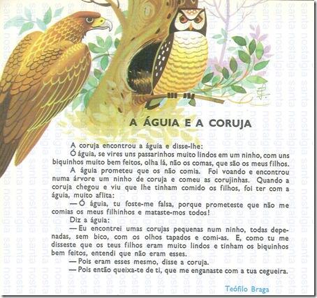 a aguia e a coruja santa nostalgia