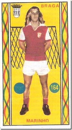 os famosos do futebol portugues universal 75_76 cromo 3 sn