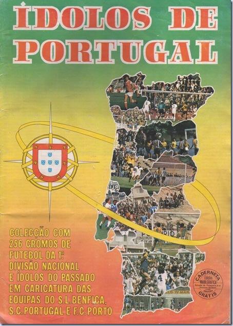 cadernetra cromos idolos portugal sn01