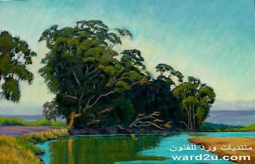 لوحات انطباعية رائعة للفنان الامريكي بل فينويك