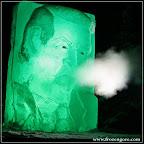 Video: Watch 4000 lb. Frozen Al Gore ice sculpture give his Copenhagen speech and belch truck exhaust