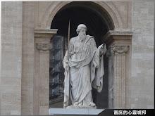 聖彼得大教堂-聖保羅像