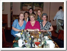 Kate, cathleen, Lori. Lynn, Deb and Carolyn
