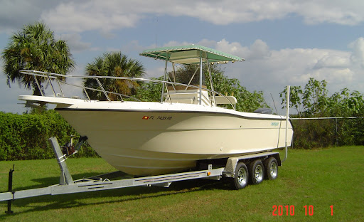 1994 21' PROLINE CENTER CONSOLE WITH 1994 250 H.P. YAMAHA ...