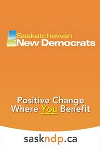 Saskatchewan New Democrats - screenshot