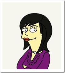 simpsonized cher
